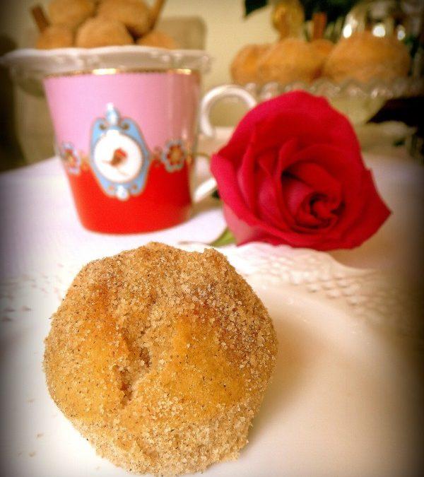 "Mini muffins ""bolinhos de chuva"""