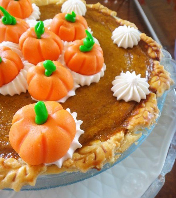 Pumpkin pie (Torta de abóbora com especiarias)