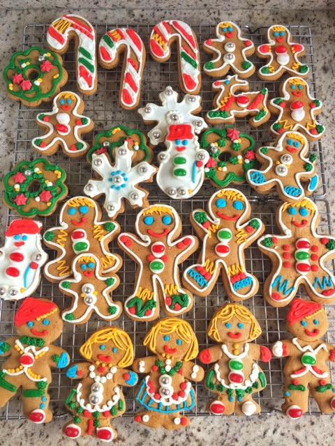 Biscoitos de Gengibre e mel (Gingerbread Cookies)
